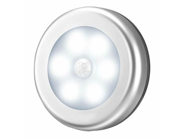 Silver Motion Sensor Lights Battery Ed Led Night Closet