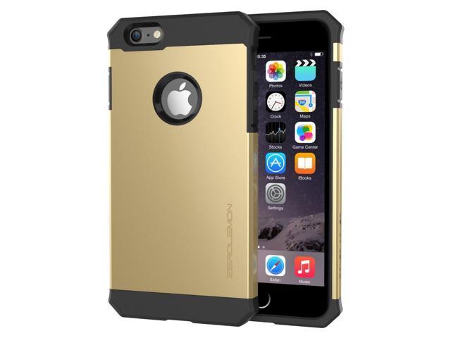 new style 77478 9df31 iPhone 6/6s Plus Slim Case, ZeroLemon Razor Armor Dual Layer Protective  Case for iPhone 6/6s Plus 5.5 inch (Fits All Versions of iPhone 6/6s Plus)  – ...