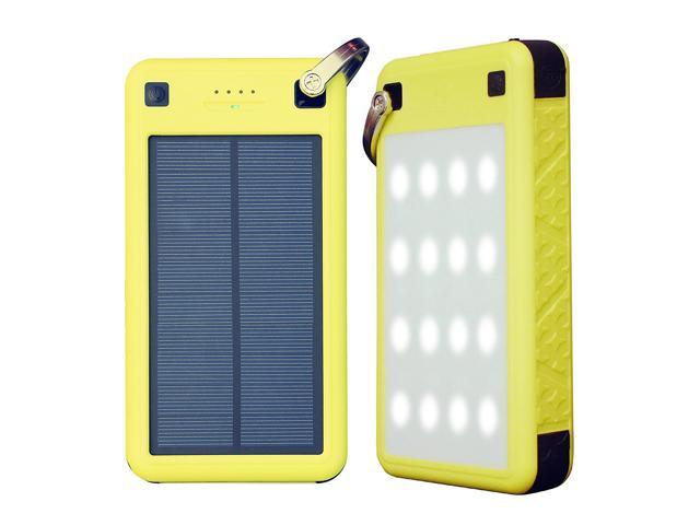 huge selection of 3da67 5fa51 Solar Charger, ZeroLemon 26800mAh SolarJuice USB-C/QC3.0 Portable Solar  Battery Charger w/ Waterproof/Shockproof Solar Power Charger for iPhone ...