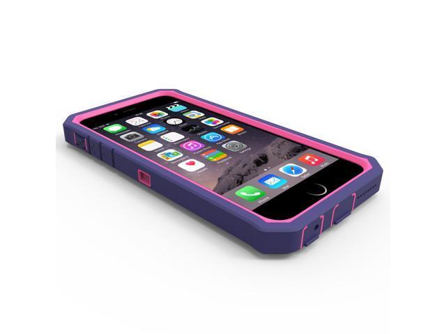 online retailer 05c89 c5aea iPhone 6/6s Plus Rugged Case,ZeroLemon Protector Series Rugged Case + PET  Screen Protector for iPhone 6/6s Plus 5.5 inch (Fits All Versions of iPhone  ...