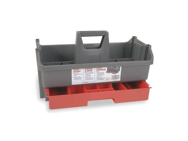 Contico Tool Organizer/Caddy, Gray w/Black Drawer Plastic Plastic ...