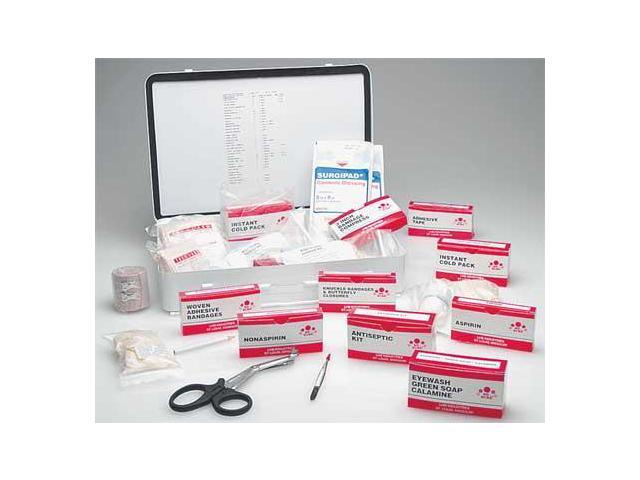 ABILITY ONE 6545006561094 First Aid Kit,Bulk,White,25 People - Newegg com