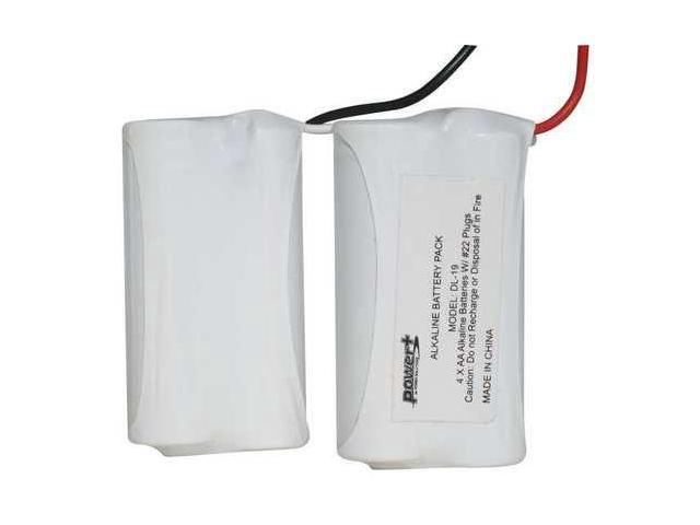 POWER XP DL-19 SafLok 4 Cell, 6 V 2+2 Y Pack,Saflok - Newegg com