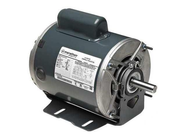 Motor,1.5 HP,1725 RPM,115//208-230V,Auto MARATHON MOTORS 5KCR49SN0150X