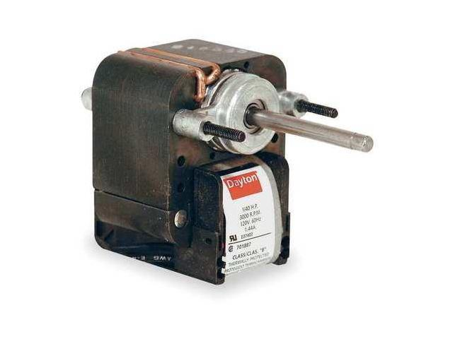 C-Frame Motor,Ball,Shaded Pole,2 In. L DAYTON 4M080D - Newegg.com