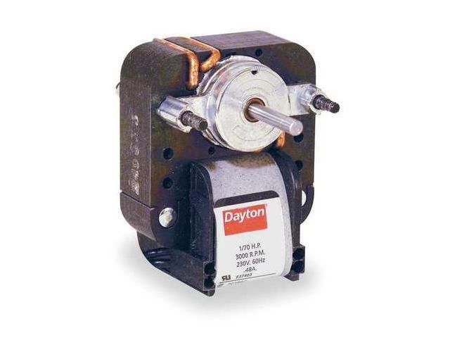 DAYTON 4M068 C-Frame Motor, Shaded Pole, Sleeve, 1 In. L - Newegg.com