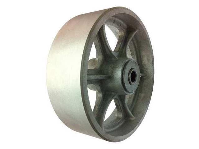 ZORO SELECT 2RYY8 Caster Wheel,1200 Lb.,6 D X 2 In