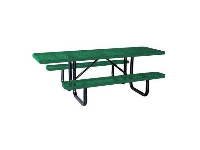 ADA Picnic Table W X DGreen ZORO SELECT HUT Neweggcom - 96 picnic table