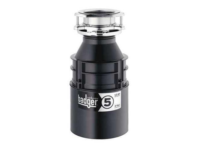 In-sink-erator 1/2 HP Garbage Disposal, 120 Voltage Enamel BADGER 5 ...