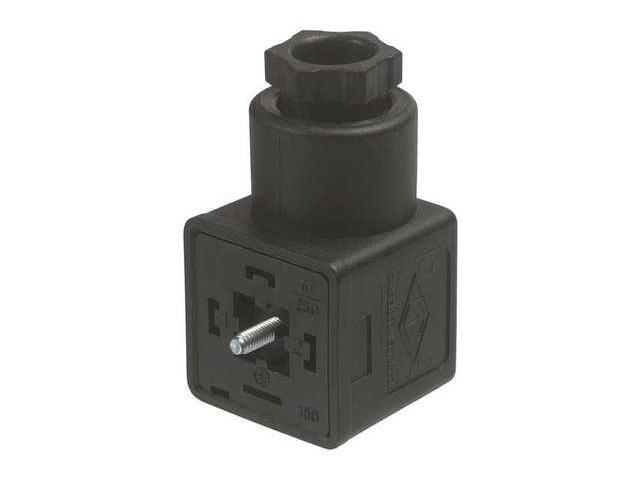 CANFIELD IND  G5100-1090000 Solenoid Valve Connector,Form A ISO Din -  Newegg com