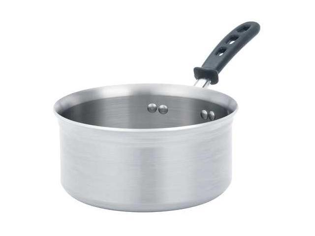 VOLLRATH 7345 Aluminum Sauce Pan,5-1//2 Qt.
