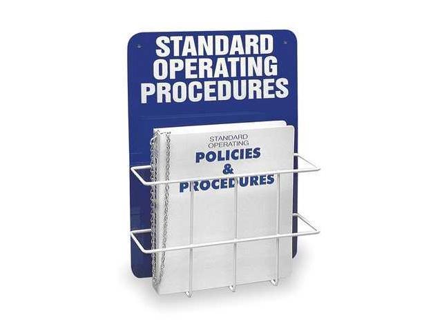 BRADY SM681A Operation Procedures Center,4-3/4 In  D - Newegg com