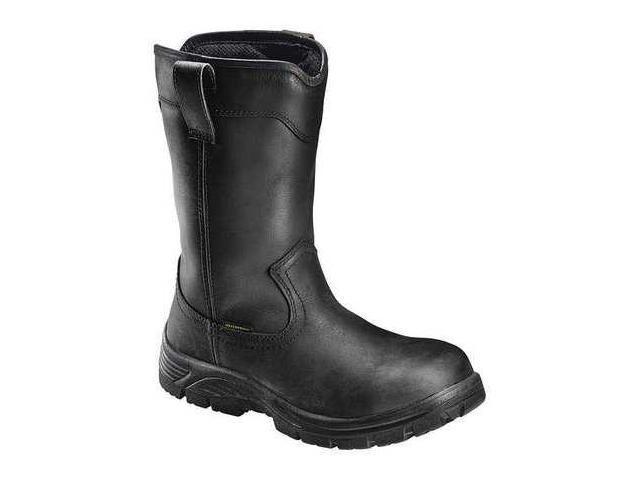 9101fc5e67e AVENGER SAFETY FOOTWEAR A7847 11M Work Boots,Men,11M,Pull On,Black,PR -  Newegg.com