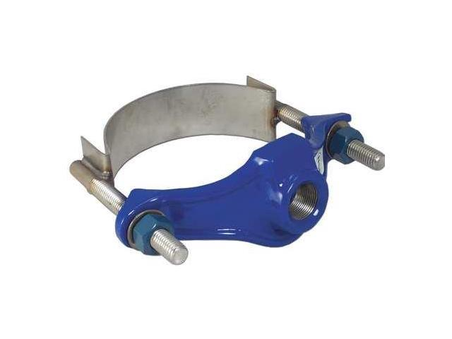 SMITH-BLAIR 31500013907000 CC Repair Clamp,Iron,1 In Pipe,3/4 In Out -  Newegg com