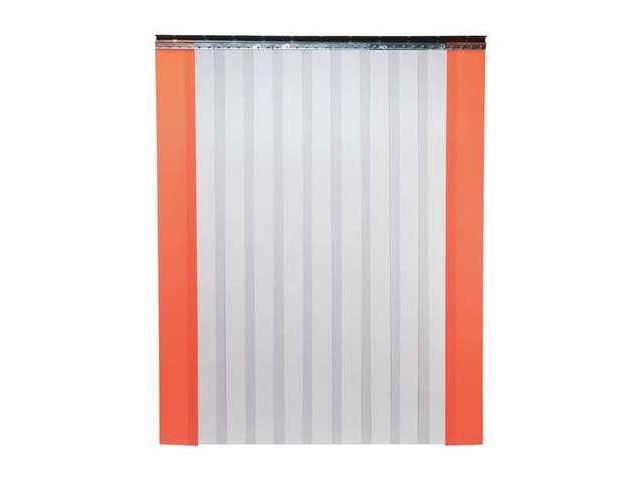 TMI 999-00020 Industrial Strip Door,Smooth,8ftHx6ftW