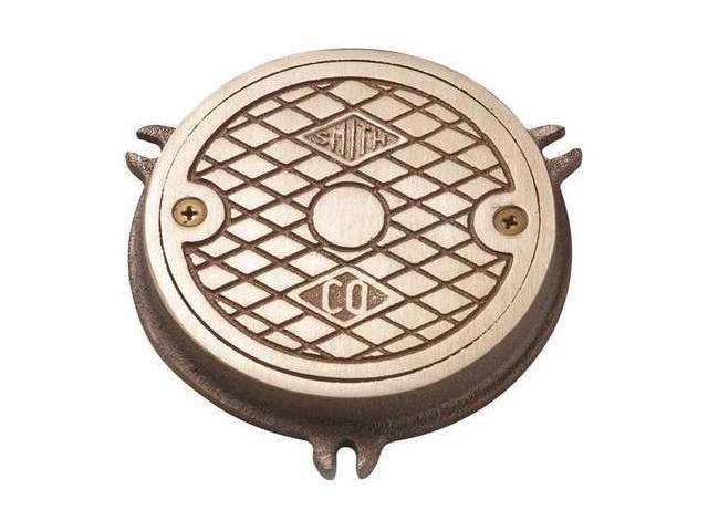 JAY R  SMITH MFG  CO 4810-04PB Floor Cleanout,3/4 in  H,Nickel Bronze -  Newegg com
