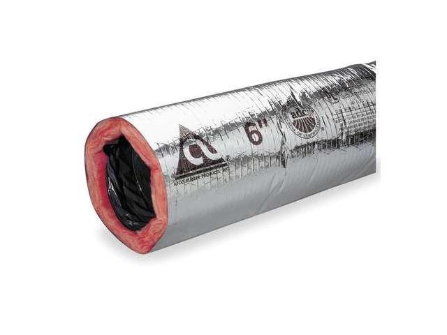 """ATCO 13002508 Insulated Flexible Duct,180F,8/"""" Dia."""
