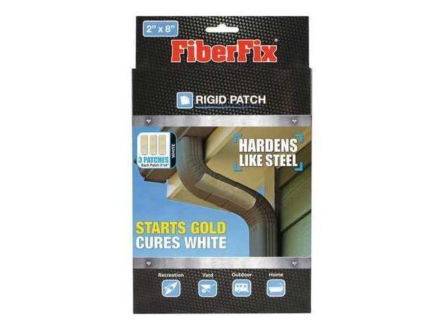 "Fiberfix Rigid Patch Three 2""x8"" Patches Hardens Like Steel"