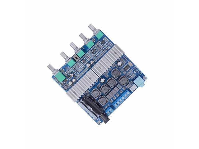 TPA3116 Bluetooth 4 2 Amplifier Board High Power 2 1 Subwoofer Digital  Amplifier Board 12-24V 50W+50W+100W 3 Channel Output - Newegg com