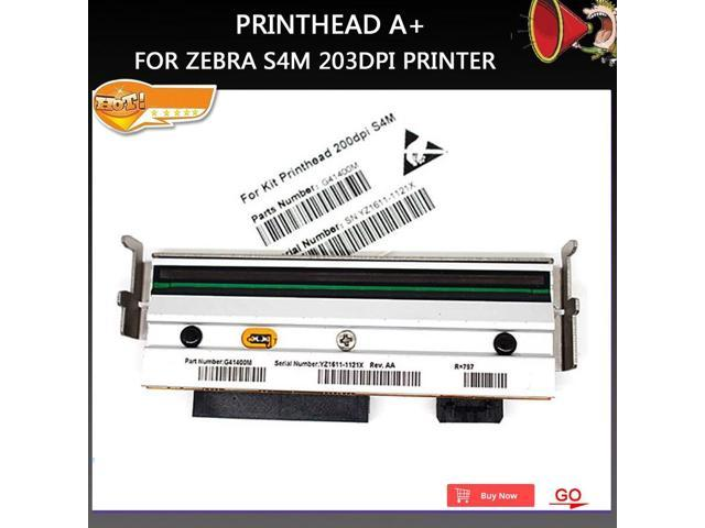 New A+ Compatible S4M Printer Barcode Thermal Print head For Zebra S4M  printer 203dpi - Newegg com