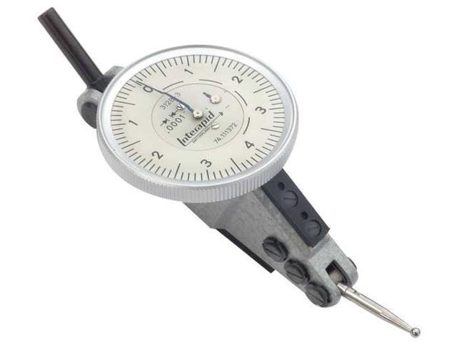 TESA BROWN /& SHARPE 312B-2 Dial Test Indicator,Hori,0 to 0.060 In