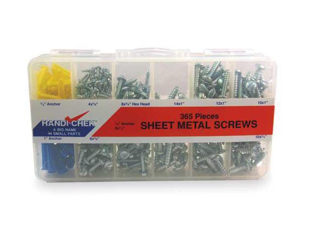 FABORY U28100.013.0075 Tapping Sheet Metal Screw,#6,3//4in,PK100