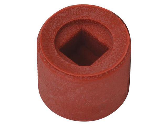 HALDER SIMPLEX 3209060 Hammer Tip,2 3//8 In,Hard,Silver