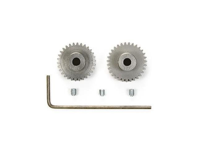 Tamiya #54466 RC 48 Pitch Pinion Gear - 30T/31T for most RC cars -  Newegg com
