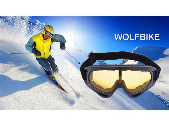 77850b481e5 WOLFBIKE X400 UV Protection Outdoor Sports Ski Snowboard Skate Goggles  Motorcycle Off-Road Cycling Goggle