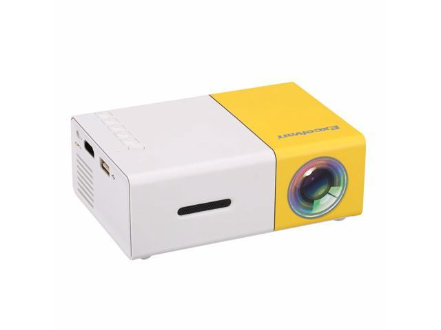 Yg300 Led Portable Projector 500lm 3 5mm 320x240 Pixel Hdmi Usb Mini Yg 300 Projector Home Media Player Newegg Com