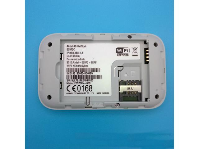 Original Unlocked Huawei E5573 Dongle Wifi Router 150Mbps E5573Cs-609  Mobile Hotspot Wireless 4G LTE FDD Band Portable Router - Newegg com