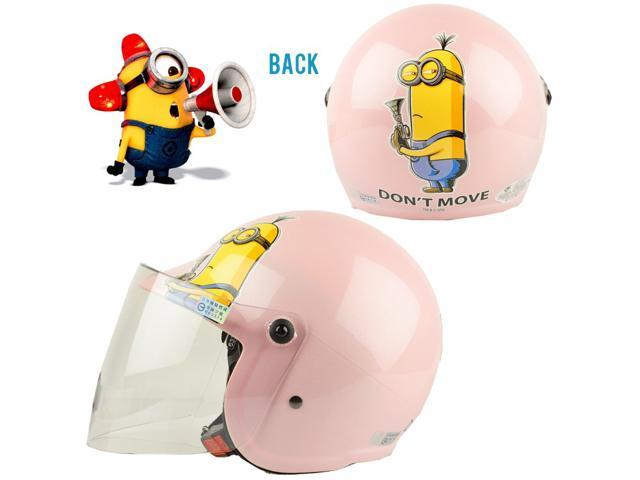 Despicable Me Kid Open Face Helmet With Shield 34 Motorcycle