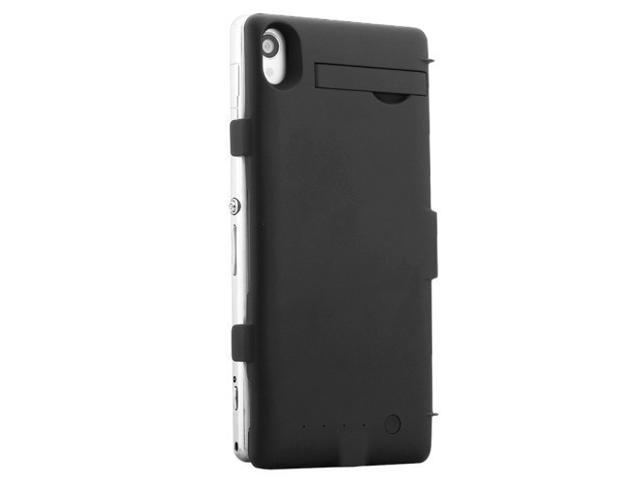 finest selection 55ef8 5d122 3200mAh Backup Battery Case Cover for Sony Xperia Z3 External Battery Case  Stand Backup Charger Cover Power Bank - Newegg.com