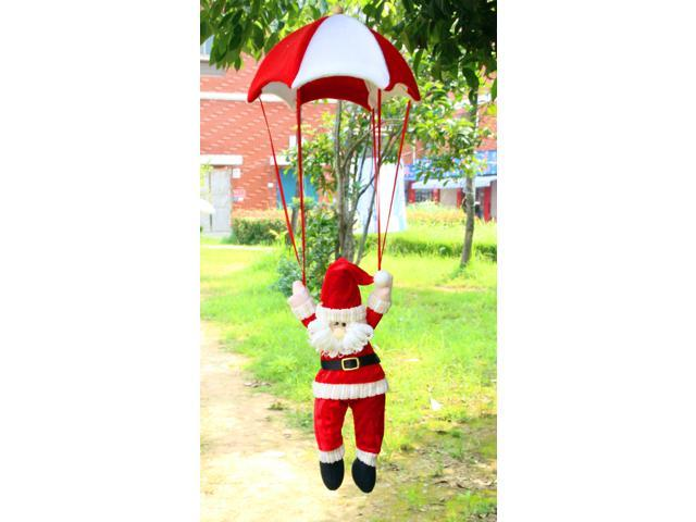 christmas decorations hanging parachute santa claus doll snowman ornaments for christmas indoor decorations xmas gift - Indoor Snowman Christmas Decorations
