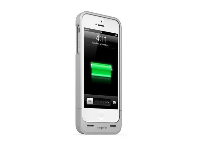 bd4fc6801 mophie Juice Pack Helium 2251 for iPhone 5/5s/SE - Silver - Newegg.com