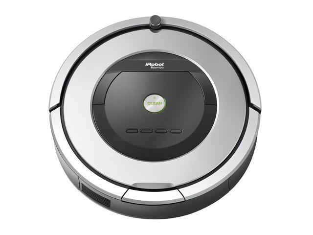 Image of iRobot Roomba 860 Vacuum Cleaning Robot - Silver