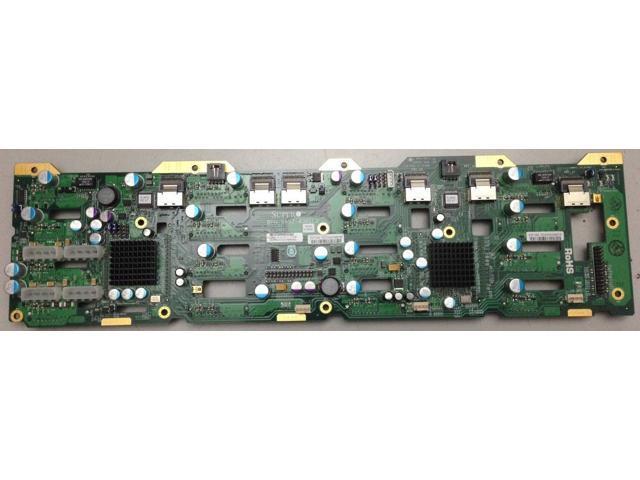 Supermicro BPN-SAS2-836EL2 836 backplane with 2 LSI SAS2X28 expander chips  - Newegg com