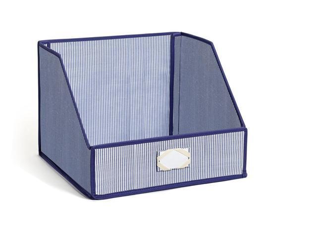 G.U.S. Striped Linen Closet Storage: Organize Sheets, Blankets, Towels,  Wash Cloths,