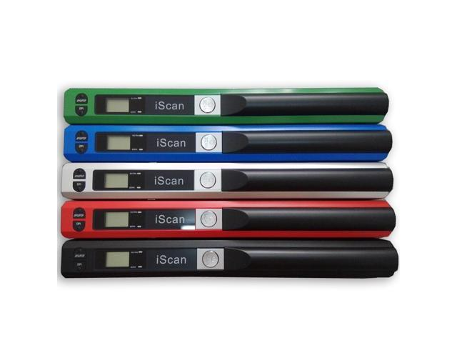 IScan Scanner 900DPI HandyScan Portable Digital Scanner Handy Scanner  Handheld Micro SD Card JPEG PDF Scan OCR Software- Green - Newegg com