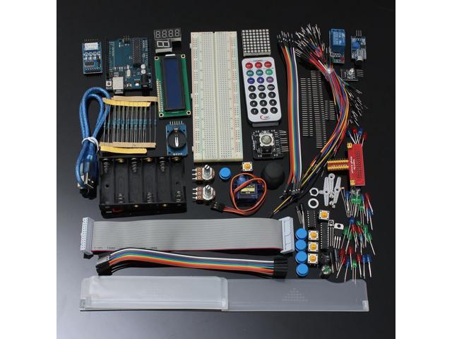 Ultimate Starter Kit for Arduino UNO R3 1602 LCD Servo Motor LED Relay NEW  - Newegg com