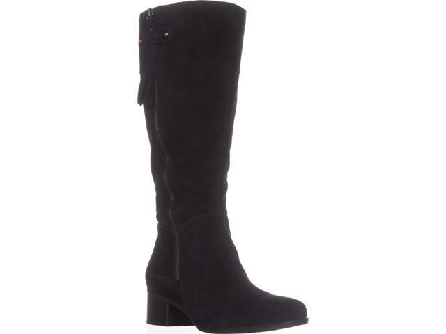 880e8ef0a23 naturalizer Demi Wide Calf Riding Boots, Black, 6.5 US / 36.5 EU -  Newegg.com
