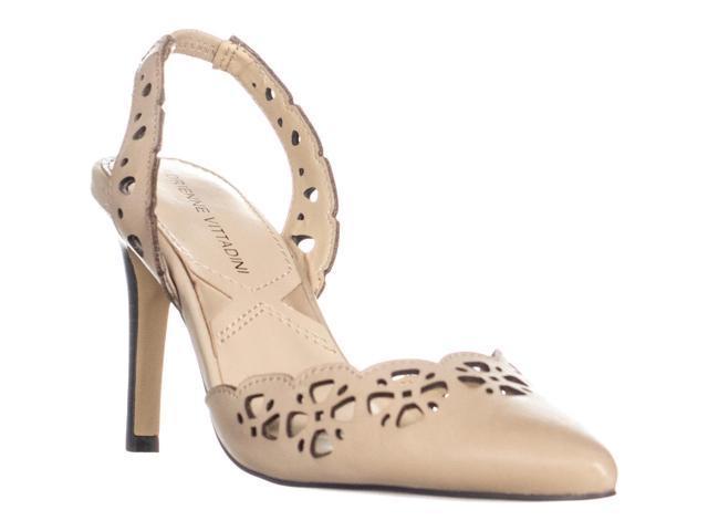 Vittadini Adrienne Perforado De PuntaCrema10 Con s Zapatos Nika U En Tacón Puntera IYb7yvf6g