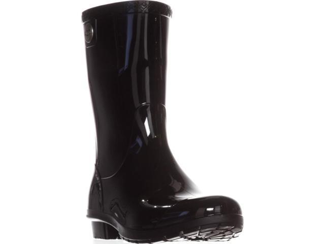 6dac396cd86 UGG Australia Sienna Mid-Calf Rain Boots, Black, 8 US / 39 EU - Newegg.com