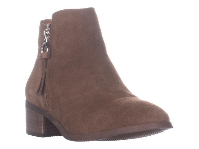 74c7e56d6d1 Steve Madden Dacey Ankle Boots, Cognac Suede, 8 US - Newegg.com