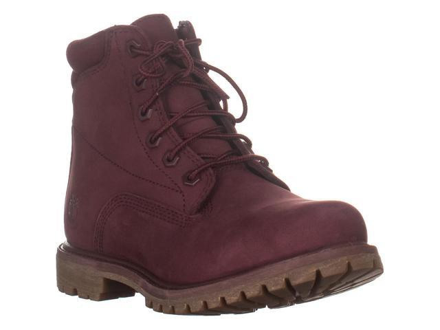 lower price with latest shades of Timberland Waterville Waterproof Ankle Boots, Burgundy, 7.5 US / 38.5 EU -  Newegg.com