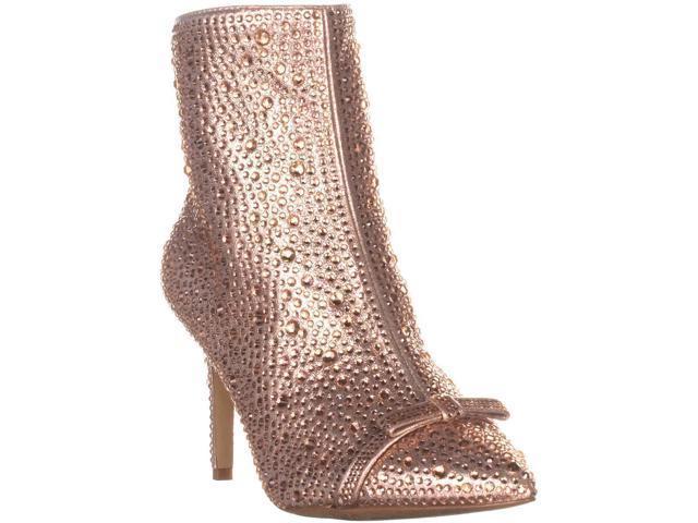 d62e590b6e95 I35 Ignacia Pointed-Toe Ankle Boots, Rose Pearl, 6.5 US - Newegg.com