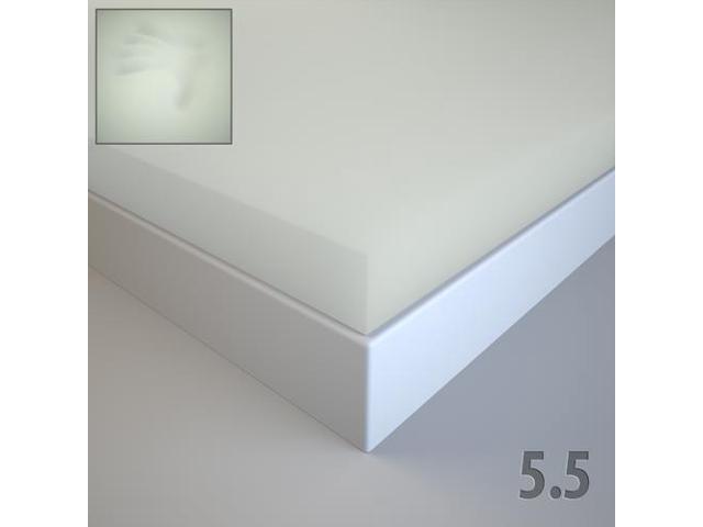 Twin Xl 2 Inch Soft Sleeper 55 100 Visco Elastic Memory Foam