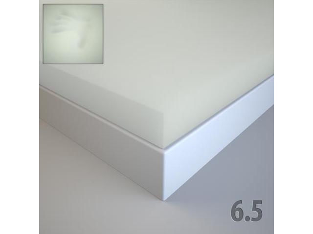 "Soft Sleeper 5.5 Cal King 3/"" Memory Foam Mattress Pad"