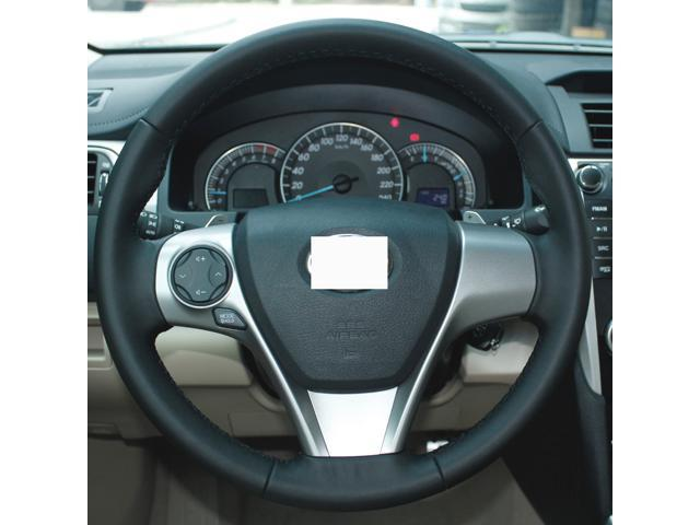 Genuine Leather Steering Wheel Cover For 2017 Toyota Camry L
