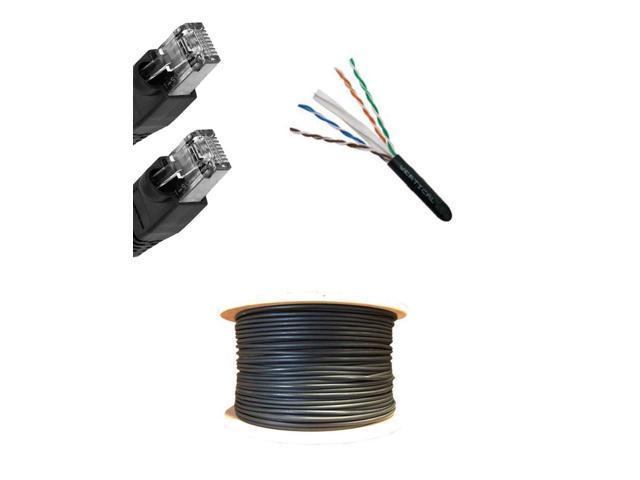 Network ETHERNET 100x RJ45 CAT5e FTP//STP Cable END Crimp Plugs 8P8C CONNECTORS